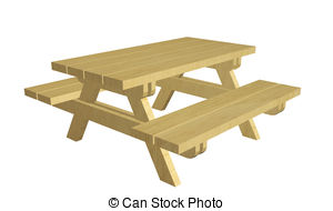 Picnic clipart picnic area Illustrations Clipart Picnic a isolated