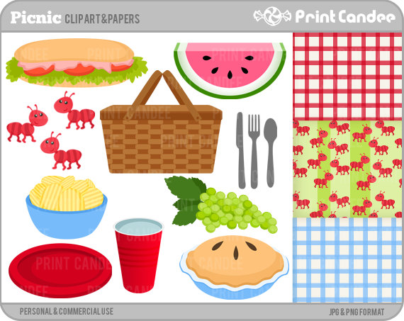 Sandwich clipart food item Use Use Picnic Clip and