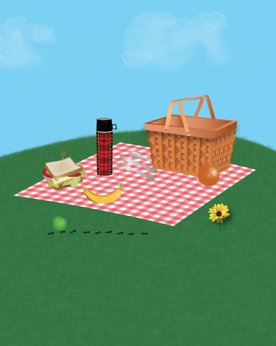 Ant clipart picnic basket Picnic and images best about