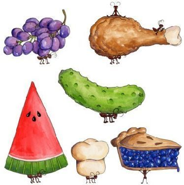Picnic clipart picnic lunch Food ideas of PICNIC Art