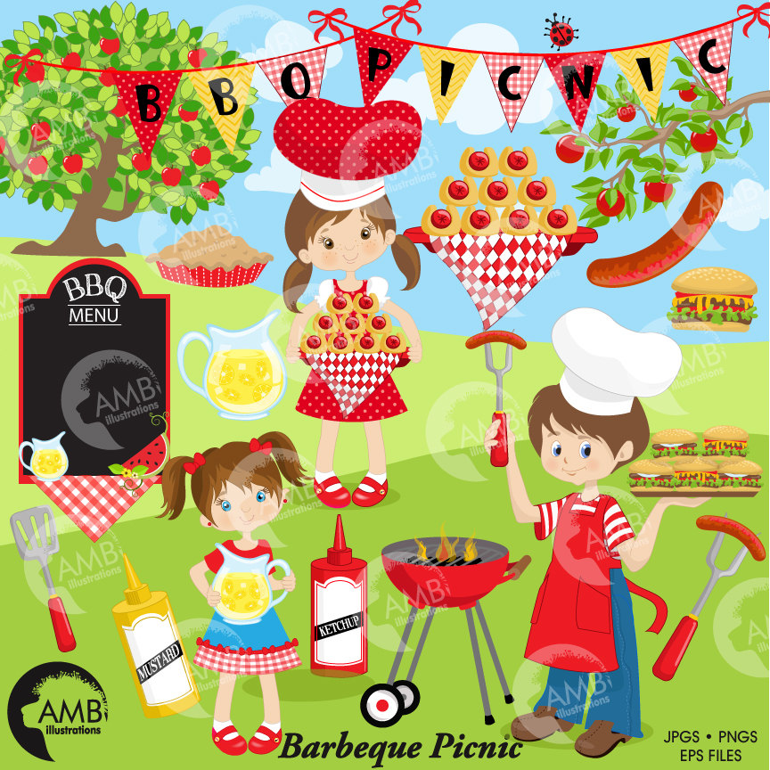 Saying clipart picnic Clipart clipart Barbecue party Picnic