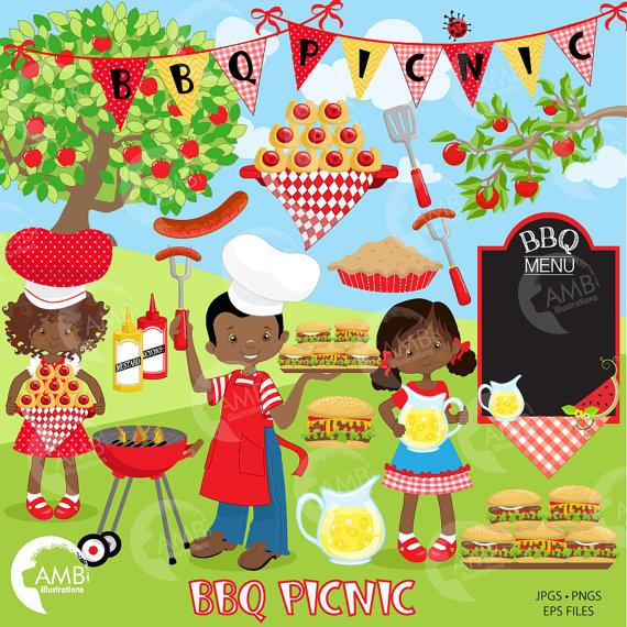 Picnic clipart picnic party Clipart clipart Studio Backyard on