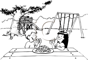 Picnic clipart playground Royalty Free Picnic Picnic Clipart