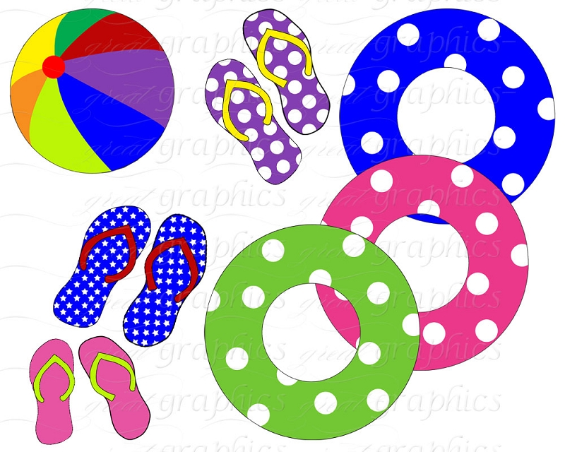 Picnic clipart pool Pool Clipart Family Pool Party