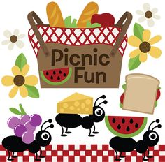 Picnic clipart preschool Svg free Fun free for