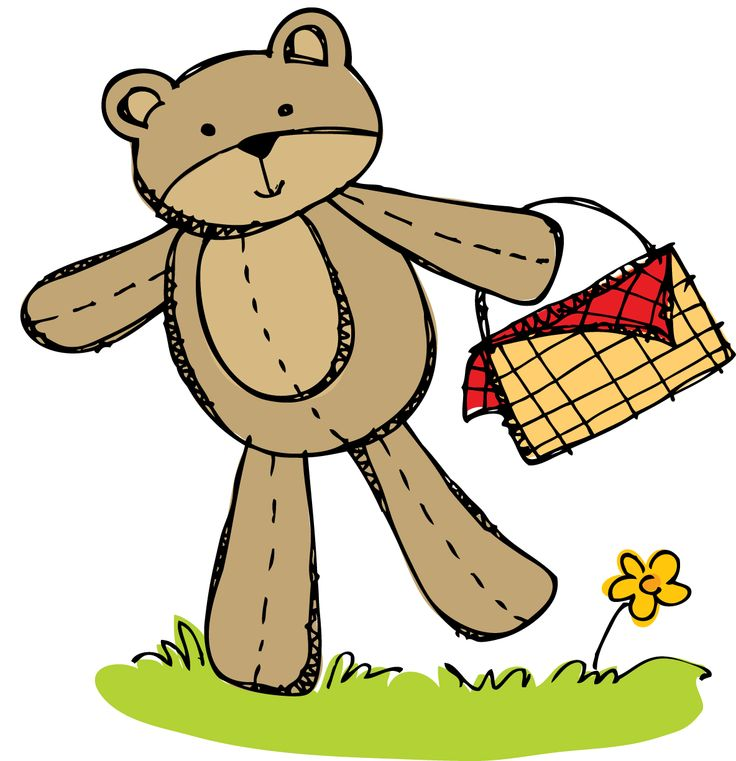 Picnic clipart preschool About Bear Bear images April