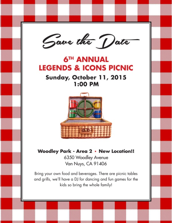 Picnic clipart save the date #2