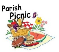 Picnic clipart save the date #8