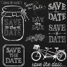 Picnic clipart save the date #11