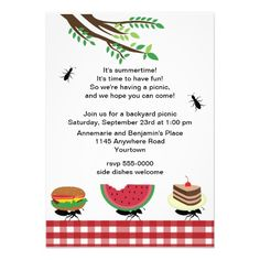Picnic clipart save the date #13