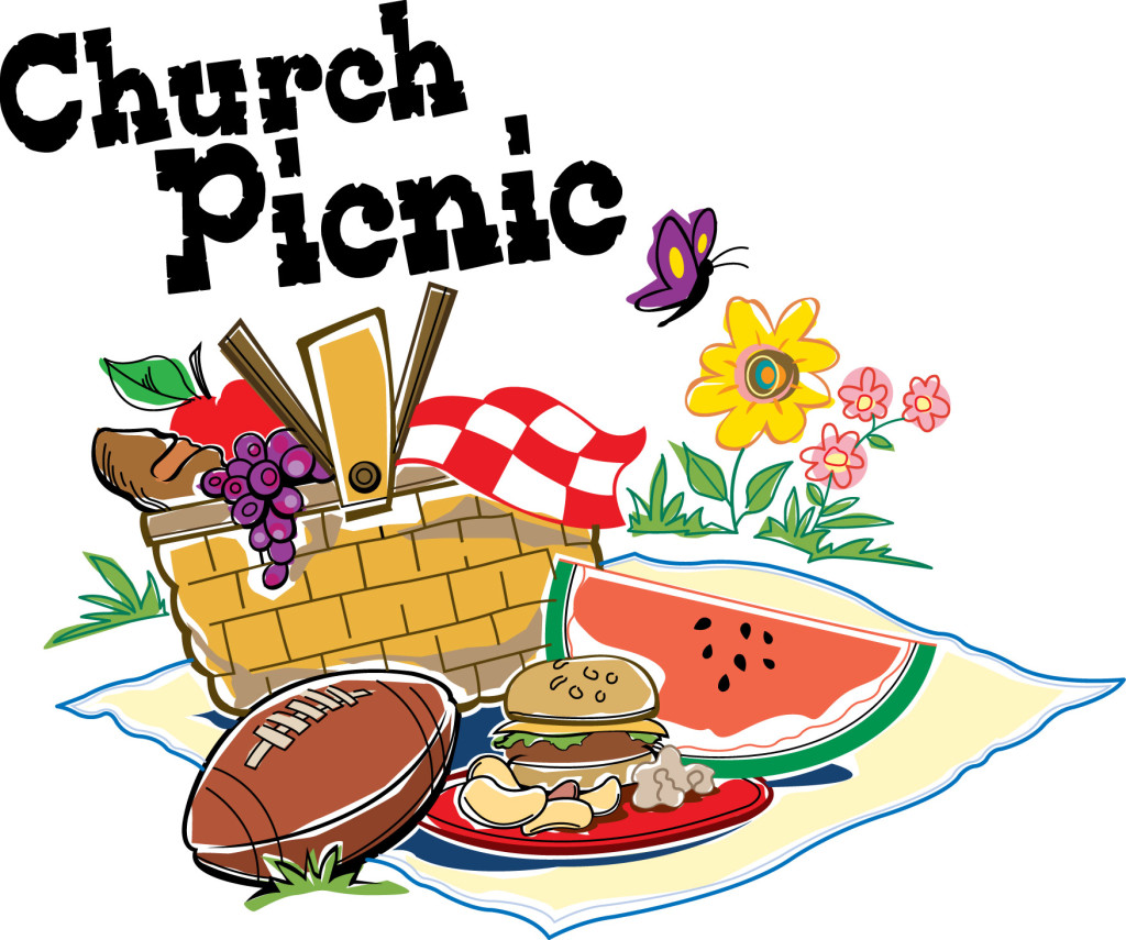 Picnic clipart save the date #10