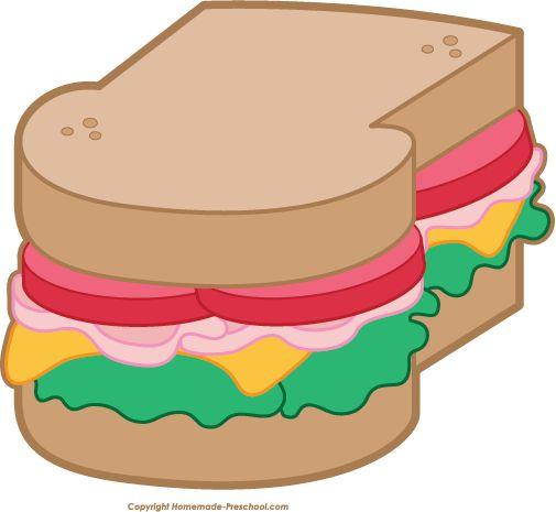 Sandwich clipart food fair On Clipart Picnic Free Food