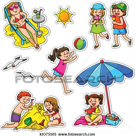 Display clipart daytime activity Summer 09 Clip Activities Clip