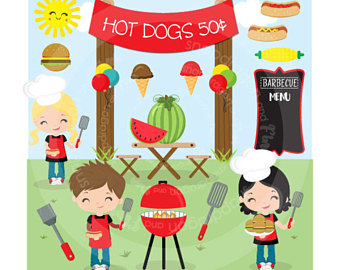Barbecue Sauce clipart summertime Clipart clipart picnic clip barbecue