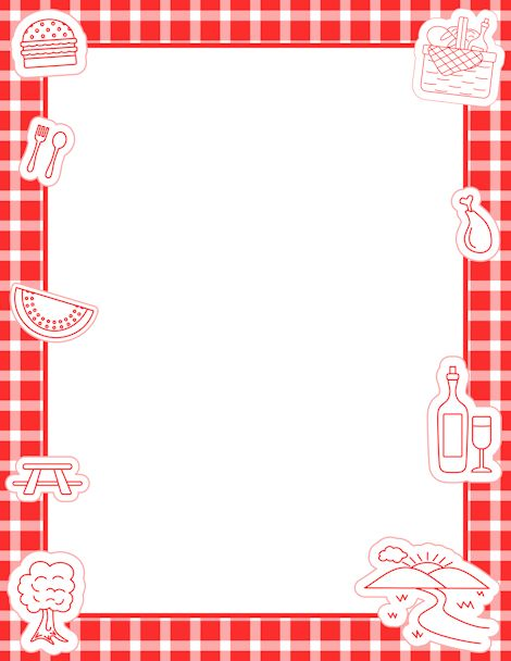 Baking clipart red frame Free images org/download page 185