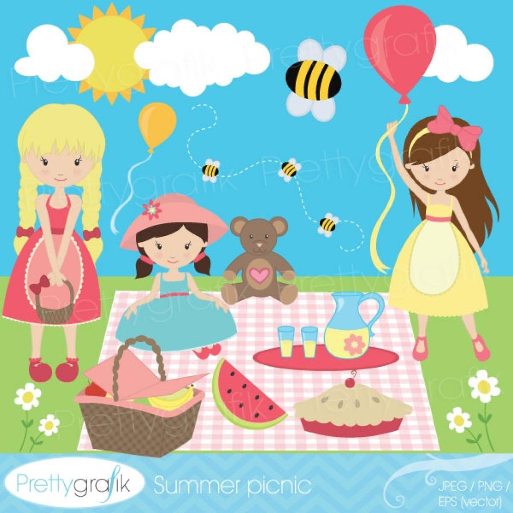Picnic clipart summer picnic Picnic picnic clipart summer picnic
