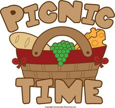 Picnic clipart summer weather #7