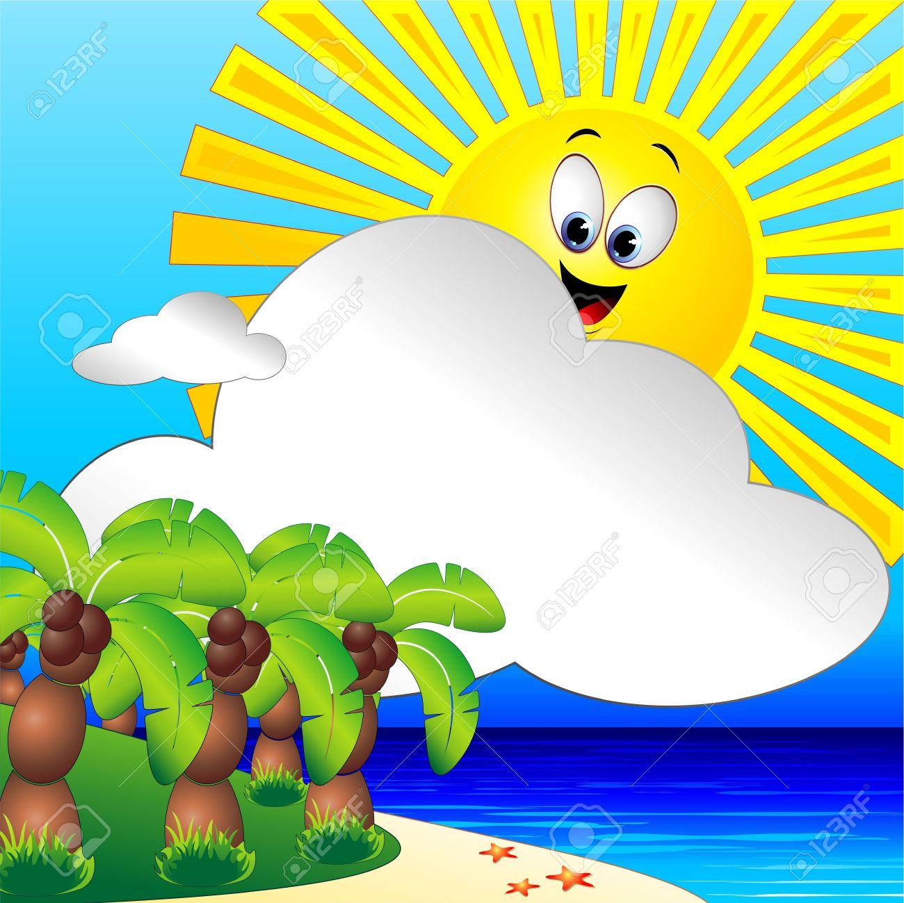 Vacation clipart sunny beach 30 Summer – Holiday Art