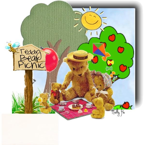 Picnic clipart teddy bear picnic #8