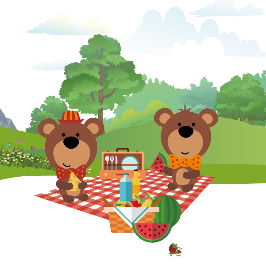 Picnic clipart teddy bear picnic At Zoo The Picnic Teddy