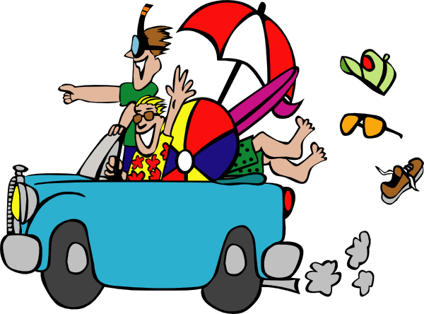 Blue Car clipart car ride Collection Kids attractions reunion Clipart