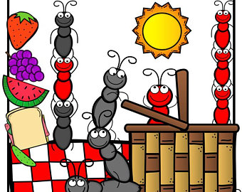 Ant clipart whimsical Picnic art ants clipart free