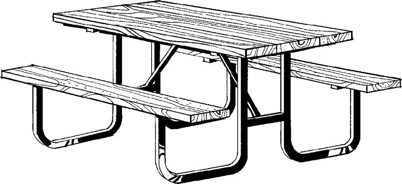 Picnic Table clipart Best Picture com #16162 Picnic