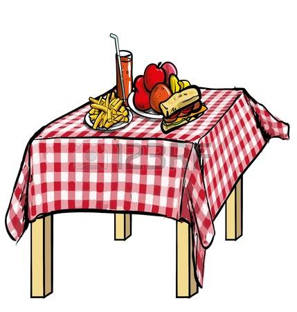 Picnic clipart cartoon (52+) Table Stock Group 513