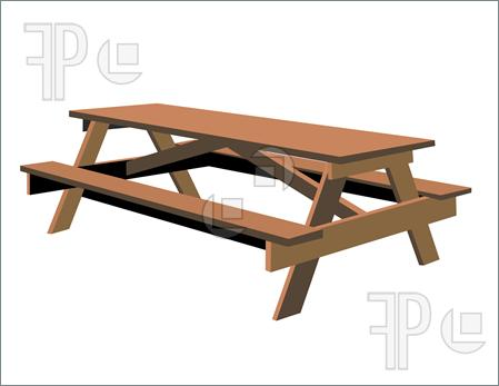 Picnic Table clipart wood table Images Clipart Free Clipart Panda