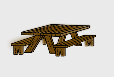 Picnic Table clipart beach picnic Table Picnic Picnic table 3