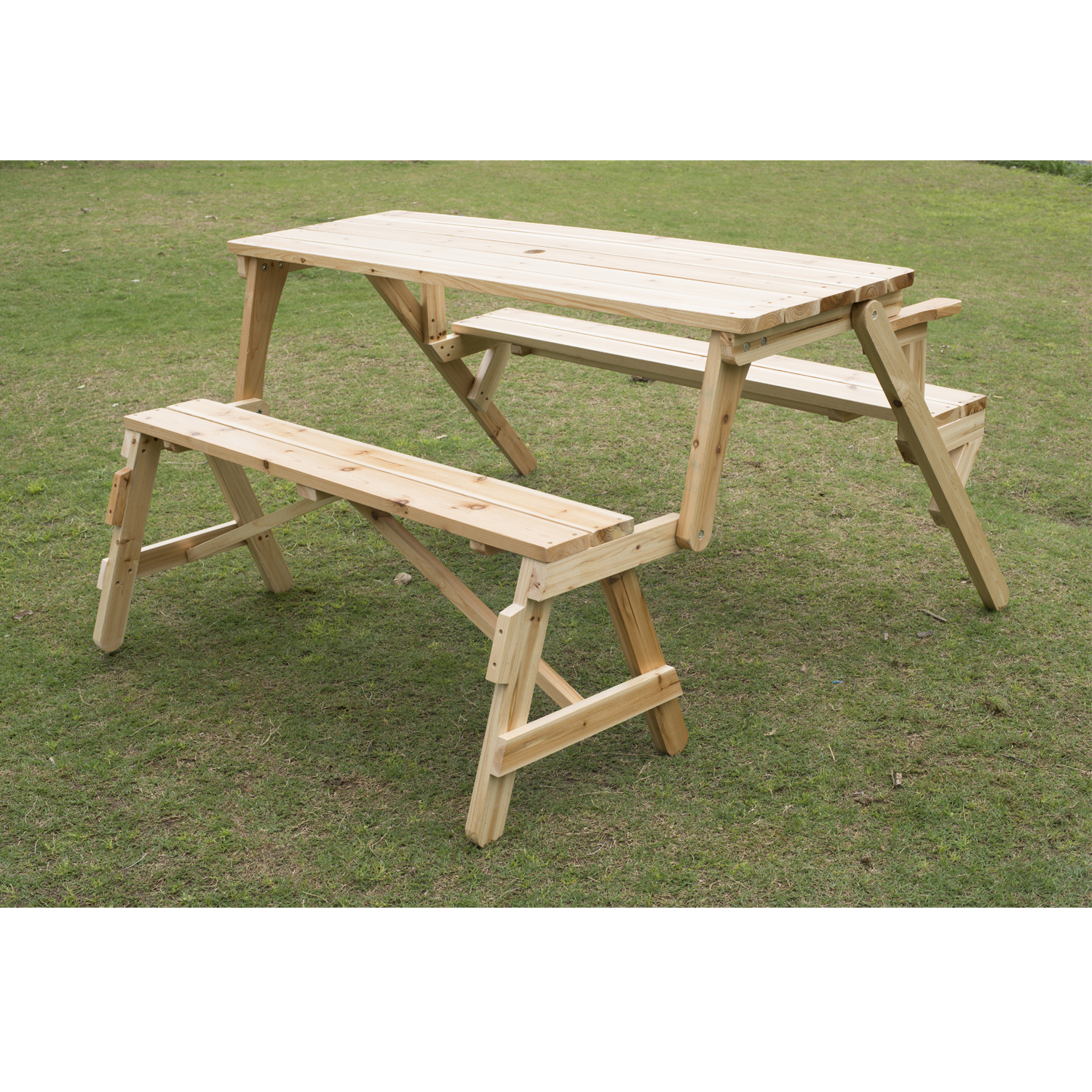 Picnic Table clipart lawn chairs Walmart Table Outsunny Bench 2