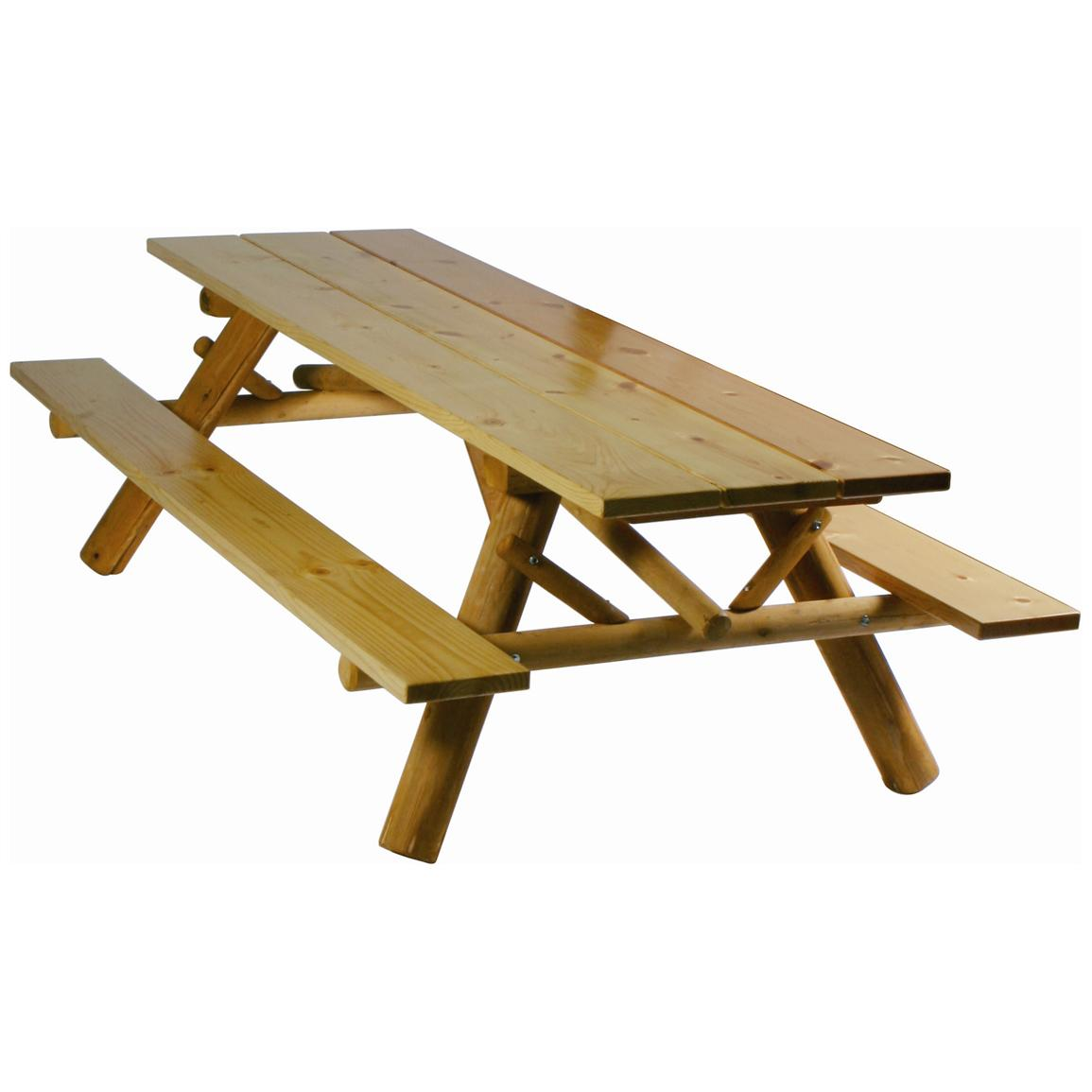 Picnic Table clipart lawn chairs Works Furniture Table Valley Cedar