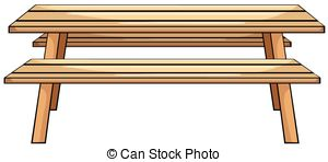 Picnic Table clipart wood table Table Wood  Picnic of