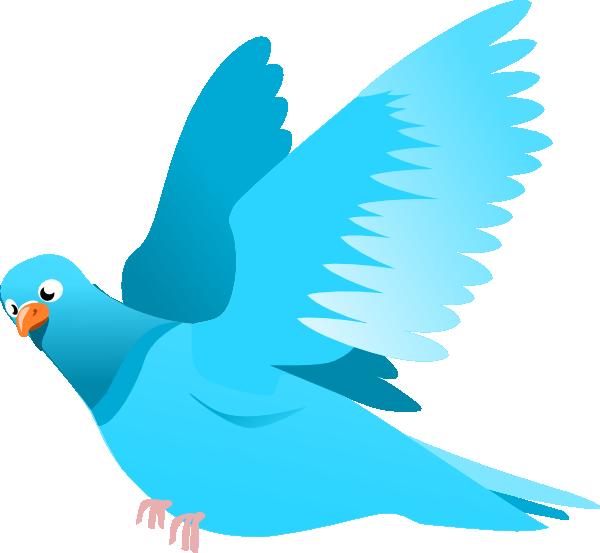 Pidgeons clipart blue bird Art Blue Clip  image