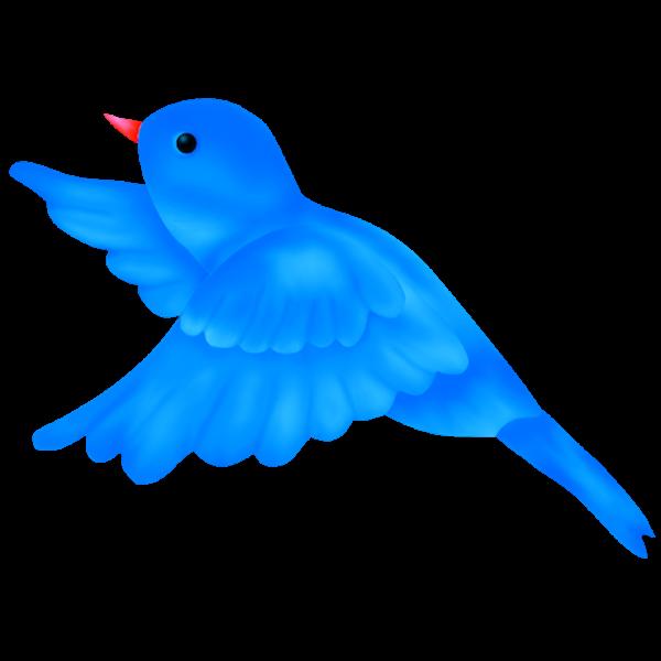 Pidgeons clipart blue bird Clip Cute bird clipart birds
