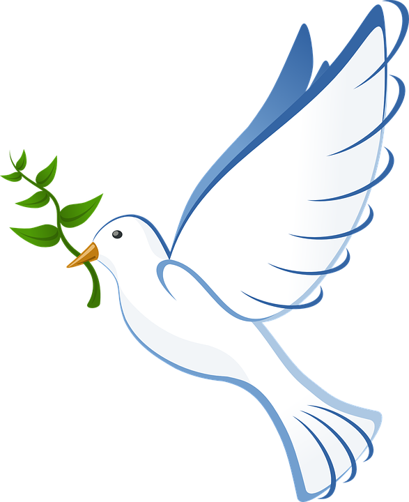 Peace Dove clipart pigeon flying #6