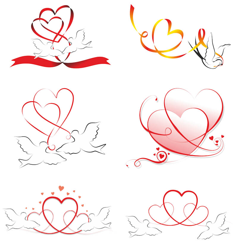 Pigeon clipart love pigeon Love  Vector Free Download