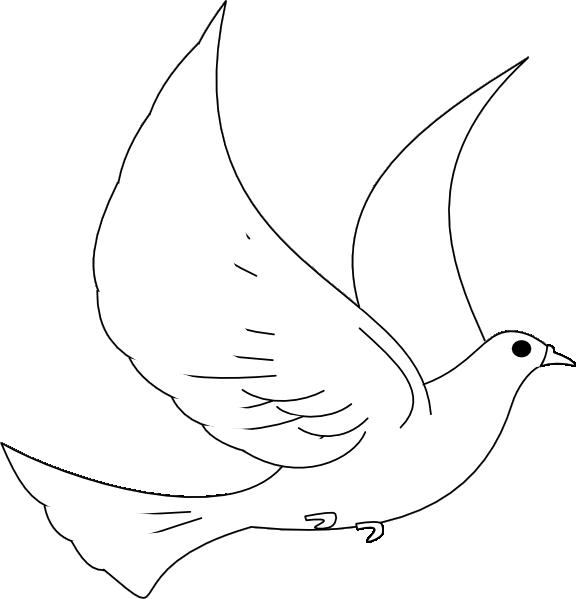 Pidgeons clipart turtle dove Clip Clker Dove Art as: