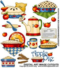 Pie clipart applie Clipart (Clip APPLE pie Electric