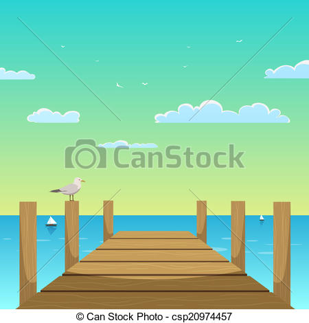 Pier clipart  3 Pier EPS Pier