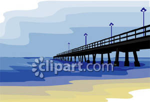 Boardwalk clipart Clipart Clipart Pier Download Pier