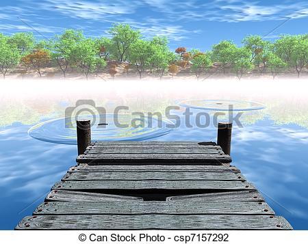 Boardwalk clipart pier To  Clip Search the