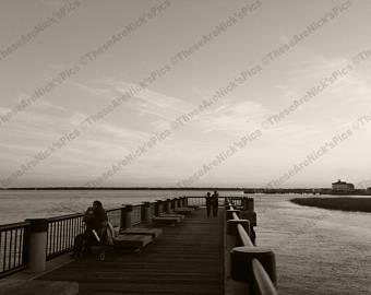 Pier clipart wharf Wharf/Seashore/Charleston Carolina pier Fishing/Waterfront Photo