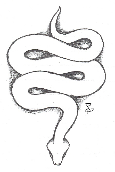 Drawn snake small snake Pin Clipart on https://www Clipart