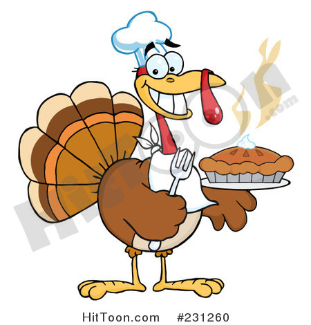 Pie clipart turkey food Art thanksgiving clip photos –