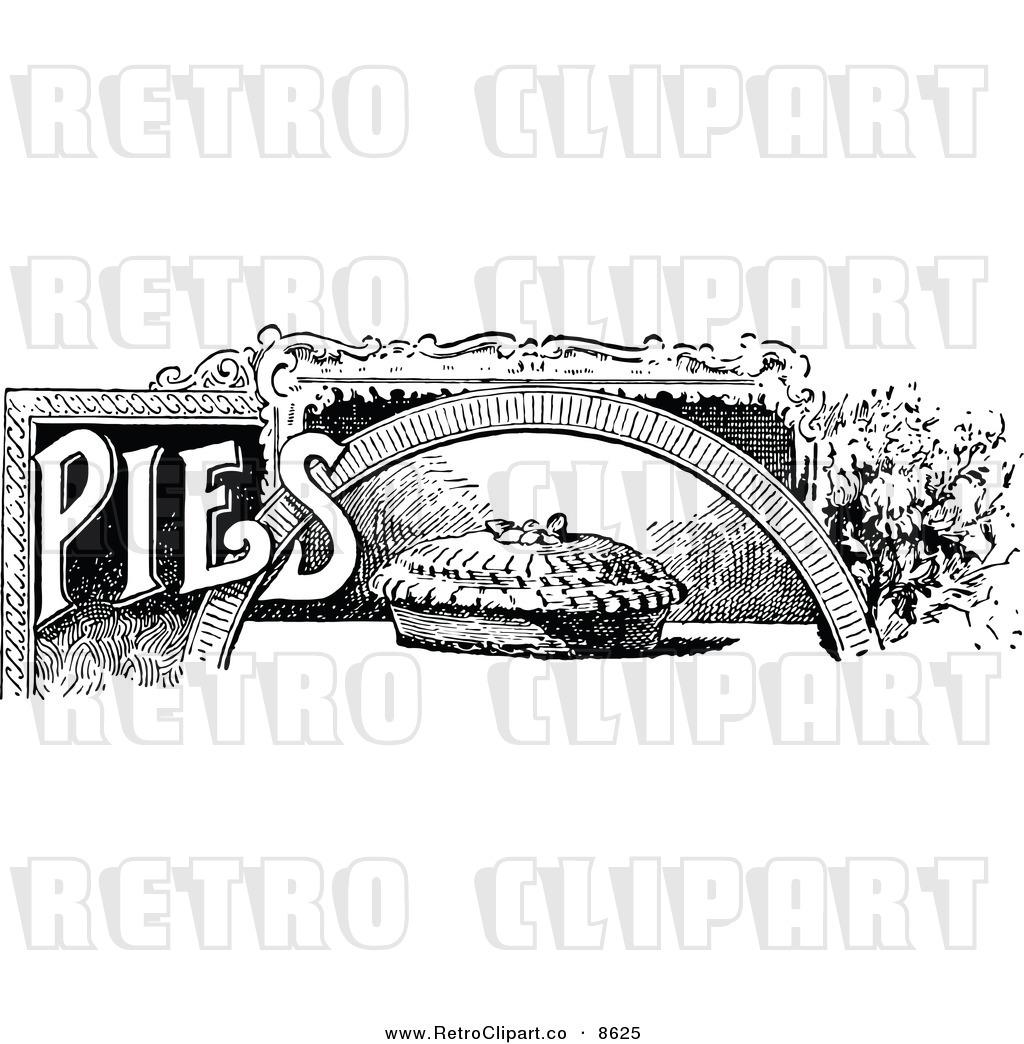 Retro clipart pie #2