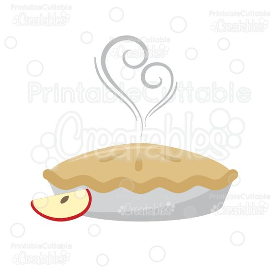 Pies clipart silhouette Cuttable SVG Files or Pie