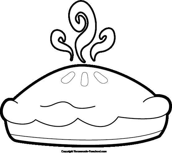Pies clipart silhouette Pie Art – Apple Clipart: