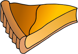 Pie clipart sliced Free Pie page Free of