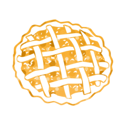 Pie clipart splattered Icon Icon pie #057791 Tags